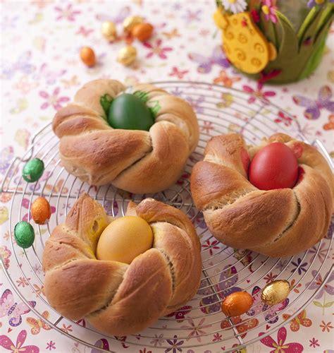 cuisine de paques brioche nids de pâques italienne les meilleures recettes