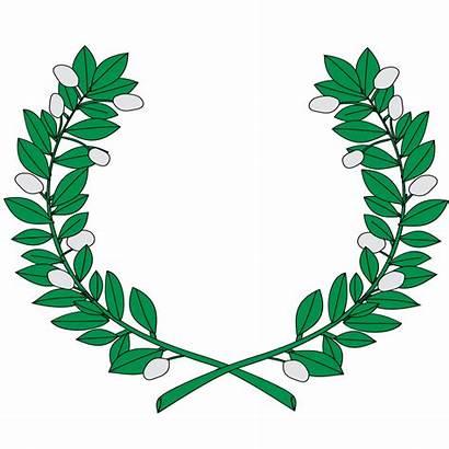 Svg Wreath Heraldic Myrtle Coat Roman Wreaths