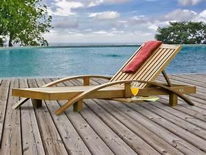Bain De Soleil Teck : bain de soleil ilica en eucalyptus 79 x 200 x 35 70 cm finition coloris teck 54386 ~ Teatrodelosmanantiales.com Idées de Décoration