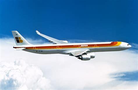 Catalogue Iberia Fleet Airbus A340 600