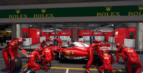 Ferrari garage garage workshop cave style ferrari car. Complete HD 2016 F1 Team Garages Package | RaceDepartment