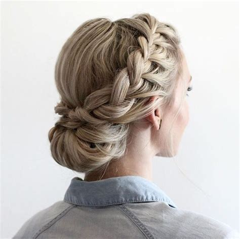 Updo Hairstyles With Braid by Half Updo With Braids Hairstyles In 2019 Braided