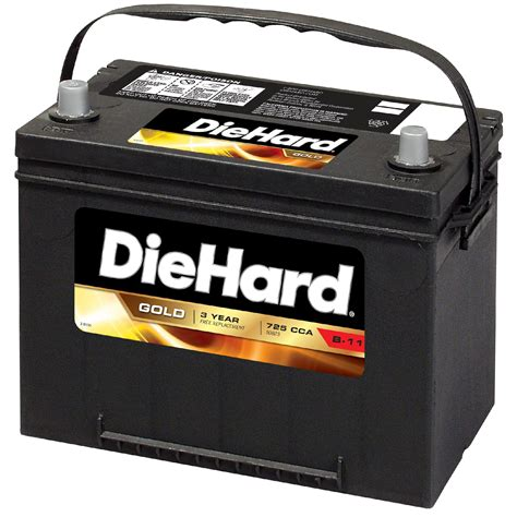 diehard gold automotive battery group size ep  price