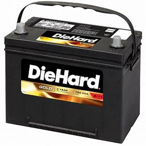 Diehard Gold Automotive Battery