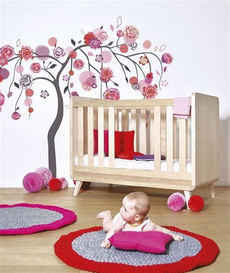 ambiance chambre bébé fille stickers chambre bebe fille paihhi com