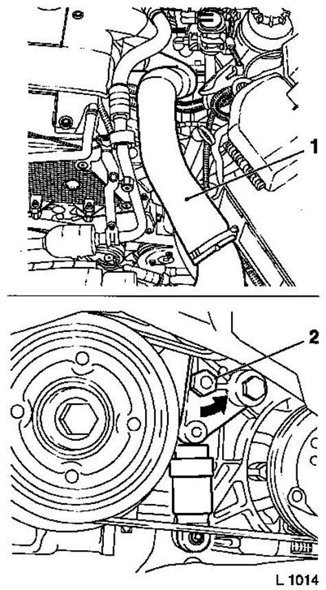 vauxhall workshop manuals vectra   steering power