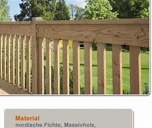 Balkongeländer Selber Bauen : holz terrassen gel nder balkongel nder terrassengel nder ~ Lizthompson.info Haus und Dekorationen