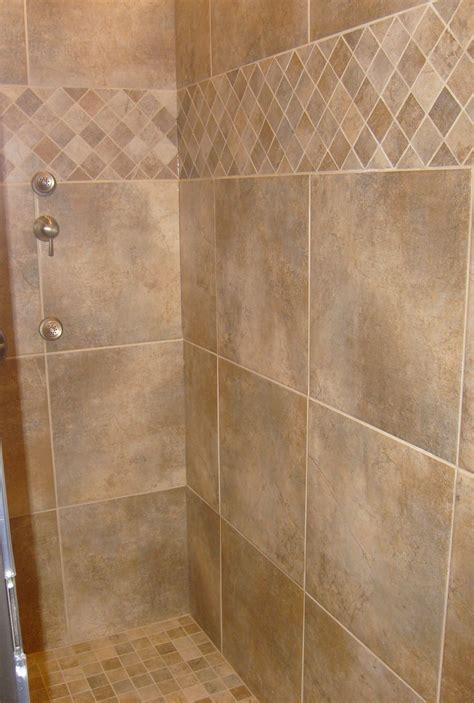 tile shower tile pattern time  update  house