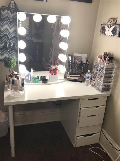 Bedroom Vanity Ideas by Ikea Vanity Impression Mirror Vanity In 2019 Vanity