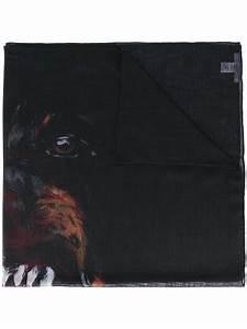 GIVENCHY Rottweiler Print Scarf | ModeSens