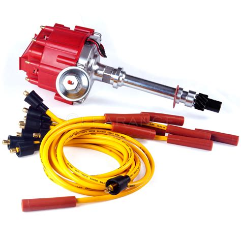Chevy Sbc Bbc Hei Distributor Spark Plug