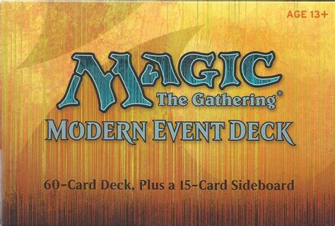 Best Modern Sideboard Cards by Magic The Gathering Modern Event Deck Includes 60 Cards