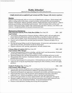 legal secretary resume template free samples examples With legal secretary resume samples
