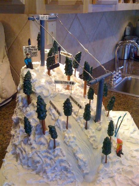 ski cake cakecentralcom