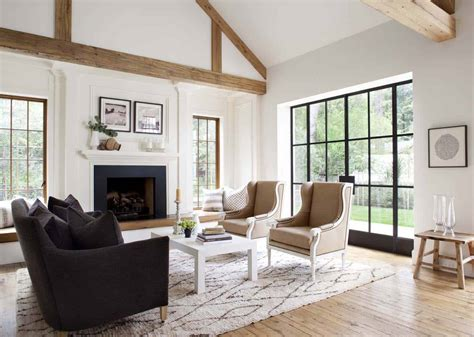 chic modern farmhouse style  mill valley california