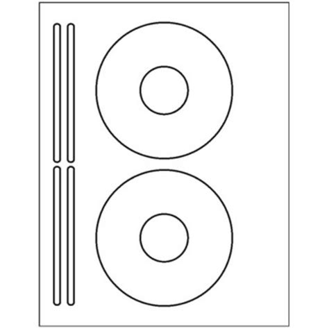avery template 8931 200 cd or dvd labels 5931 template used to create 2 cd 4 spine per sheet ebay