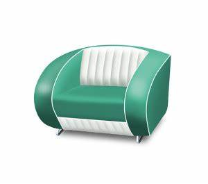 Bel Air Retro Furniture Double Seater Sofa Lawton Imports