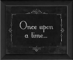 Silent Movie Once Upon a Time Framed Artwork