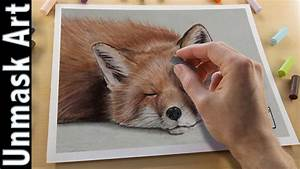fox painting with soft pastels live tutorial paintingtube