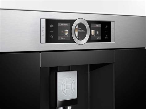 bosch einbau kaffeemaschine bosch ctl636es1 einbau kaffeevollautomat edelstahl kaffee automat kompaktger 228 t 4242002769226 ebay