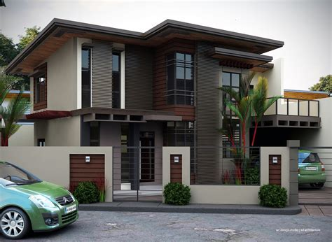 Modern Home Exteriors with Stunning Interior   Home Design
