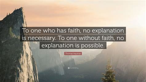 thomas aquinas quote     faith
