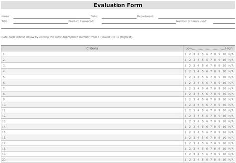 employee evaluation form template word 31 employee evaluation form templates free word excel exles