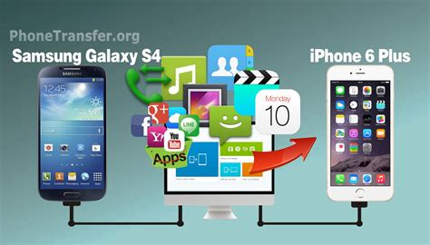 iphone to samsung transfer how to transfer all files from samsung galaxy s4 to iphone