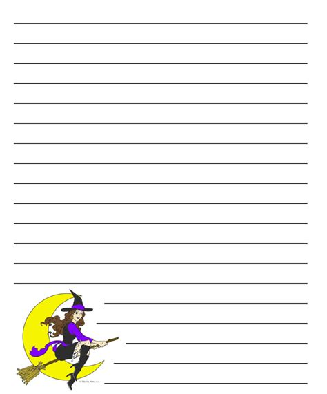 halloween blank writing sheet festival collections