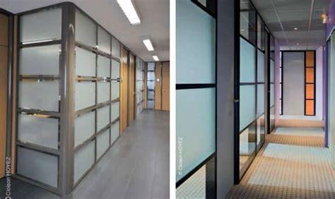cloisons de bureaux cloison amovible de bureau coulissante ou vitrée en