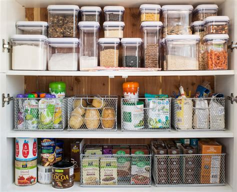 Organization Containers by Kitchen Refresh Pantry Container Stories