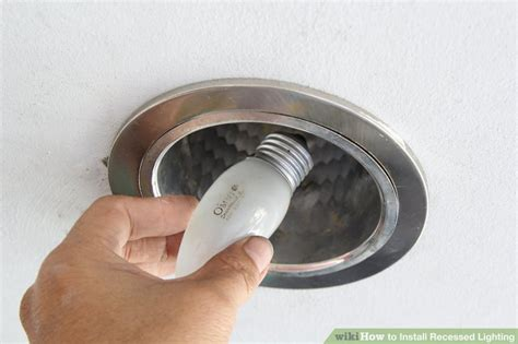 install recessed lighting 3 ways to install recessed lighting wikihow
