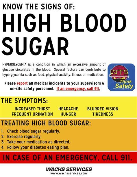 signs  high blood sugar   diabetes information