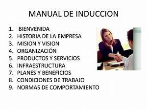 3 1 Manuales En La Organizacion