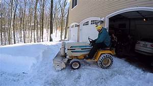 My Cub Cadet 1650 With Snowblower