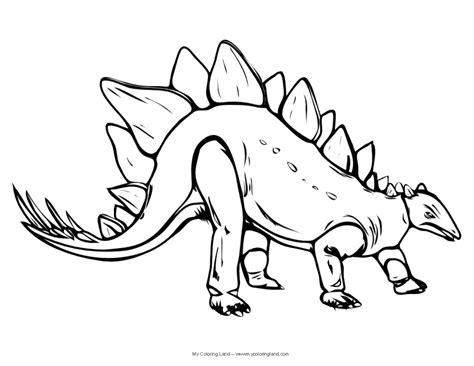 dinosaur  coloring land