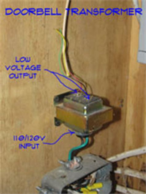 how to install a doorbell with transformer side of wiring doorbell transformers doorbells electrical