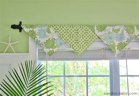 Kitchen Curtains And Valances Ideas - the easiest no sew window treatments ever sand and sisal