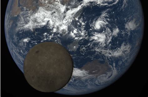 Moon Photobombs The Earth Rare Images Captured Nasa