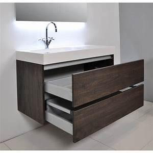 Armoire De Salle De Bain Avec Miroir : meuble salle de bain woodstock ~ Dailycaller-alerts.com Idées de Décoration