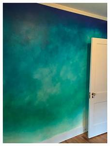 Ombre39 Wall Bedroom Denver By The Color Lab