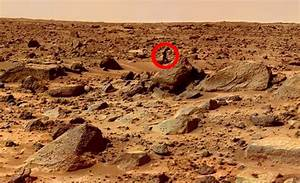 Mars Rover Sends Back Images Of What Appears To Be Man ...