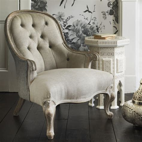 vintage most comfortable reading chair with bergere style