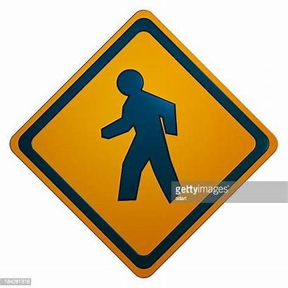 Sign Crosswalk Pedestrian Crossing
