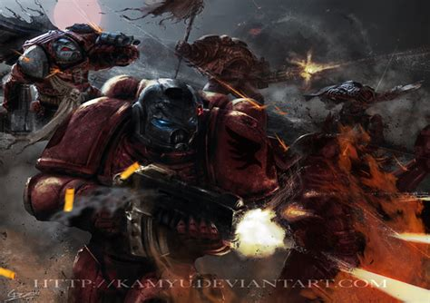 warhammer 40k blood angels wallpaper wallpapersafari