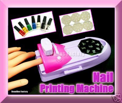nail design machine nail printing machine w varnish print false