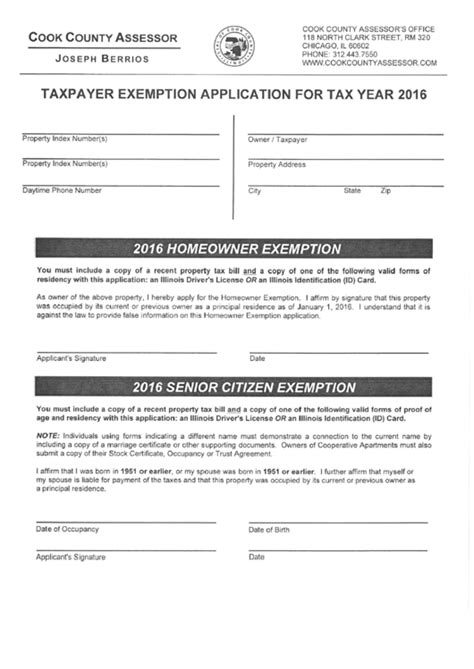 cook county tax exemption forms top 9 cook county assessor forms and templates free to