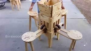 Wow, Incredible Folding Table! - YouTube