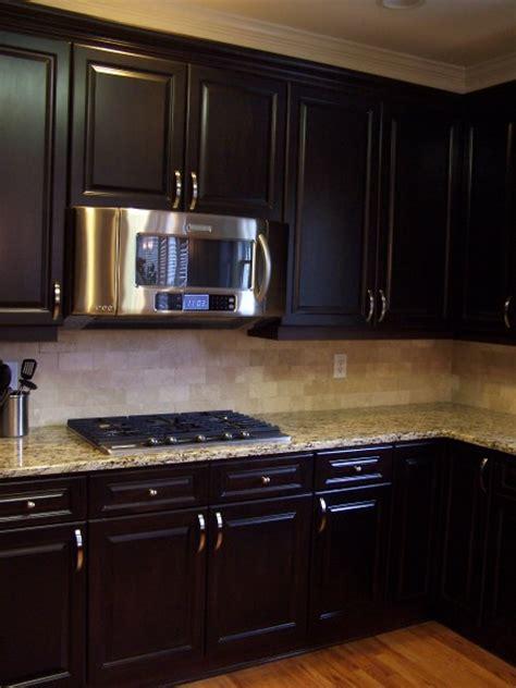 espresso color kitchen cabinets espresso stained kitchen cabinetry kitchen cabinetry