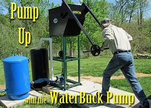 The Waterbuck Comes Equipped With One Or Two Customized Windmill Pump Cylinders  21 U2019 X 3  4